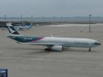 Shibataさんが、中部国際空港で撮影したキャセイパシフィック航空 A330-342Xの航空フォト(写真)