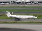 51ANさんが、羽田空港で撮影したAVNエア G500/G550 (G-V)の航空フォト(写真)