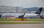マンチェスター空港 - Manchester Airport [MAN/EGCC]で撮影されたユナイテッド航空 - United Airlines [UA/UAL]の航空機写真