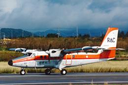 菊池 正人さんが、石垣空港で撮影した琉球エアーコミューター DHC-6-300 Twin Otterの航空フォト(写真)