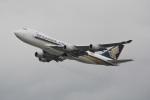 LEGACY-747さんが、香港国際空港で撮影したシンガポール航空カーゴ 747-412F/SCDの航空フォト(飛行機 写真・画像)