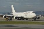 LEGACY-747さんが、香港国際空港で撮影したオリエント・タイ航空 747-412の航空フォト(飛行機 写真・画像)