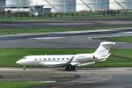 パンダさんが、成田国際空港で撮影したウィルミントン・トラスト・カンパニー G-V-SP Gulfstream G550の航空フォト(写真)