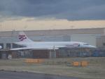 TUILANYAKSUさんが、ロンドン・ヒースロー空港で撮影したブリティッシュ・エアウェイズ Concorde 102の航空フォト(写真)