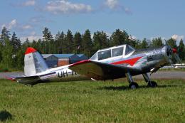 Echo-Kiloさんが、ラッペーンランタ空港で撮影した不明 DHC-1 Chipmunk Mk22の航空フォト(飛行機 写真・画像)