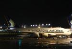 あしゅーさんが、成田国際空港で撮影したシンガポール航空 A380-841の航空フォト(飛行機 写真・画像)