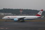 セブンさんが、成田国際空港で撮影したオーストリア航空 777-2Q8/ERの航空フォト(飛行機 写真・画像)