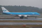 セブンさんが、成田国際空港で撮影したKLMオランダ航空 747-406Mの航空フォト(飛行機 写真・画像)