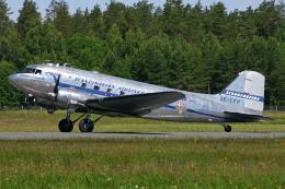 Echo-Kiloさんが、ラッペーンランタ空港で撮影したスカンジナビア航空 DC-3Cの航空フォト(飛行機 写真・画像)