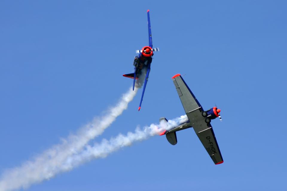 Echo-Kiloさんの不明  North American T-6 Texan (D-FHGK) 航空フォト