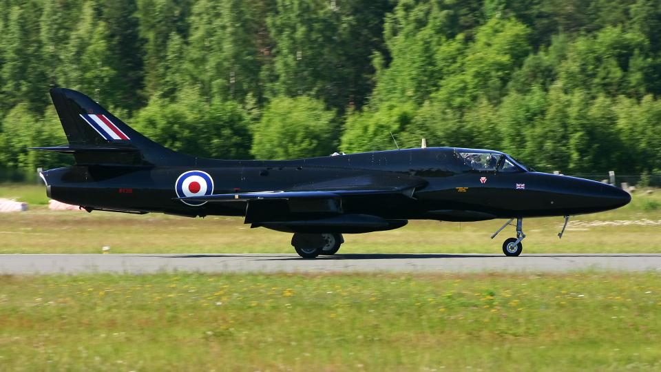 Echo-Kiloさんの不明 Hawker Siddeley Hawker Hunter (G-FFOX) 航空フォト