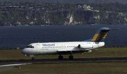 planetさんが、デンパサール国際空港で撮影したメルパチ・ヌサンタラ航空 F28-4000 Fellowshipの航空フォト(飛行機 写真・画像)