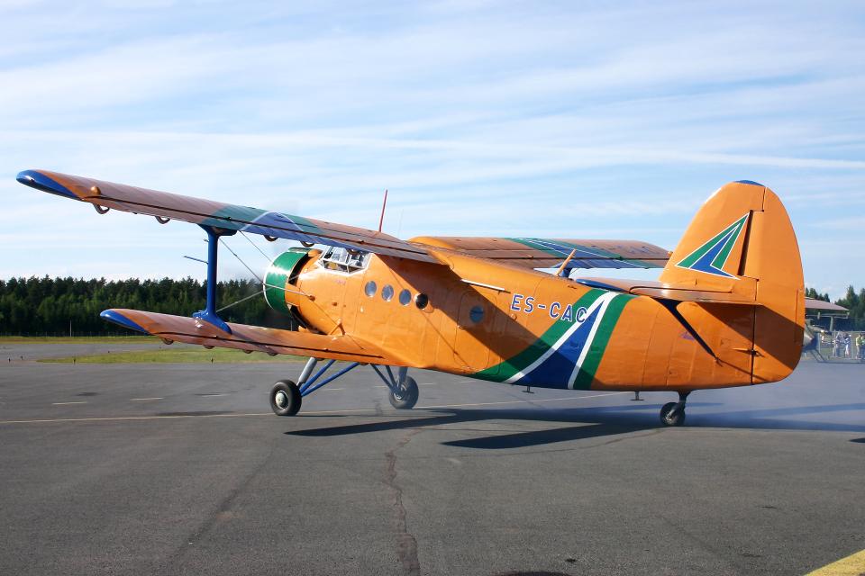 Echo-Kiloさんの不明 Antonov An-2 (ES-CAC) 航空フォト