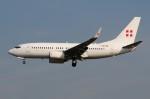 ぼんやりしまちゃんさんが、フランクフルト国際空港で撮影したプライベートエア 737-7CN BBJの航空フォト(飛行機 写真・画像)