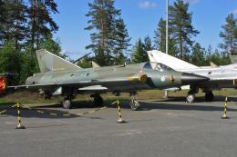 Echo-Kiloさんが、ユバスキュラ空港で撮影したフィンランド空軍 J35BS Drakenの航空フォト(飛行機 写真・画像)