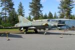 Echo-Kiloさんが、ユバスキュラ空港で撮影したフィンランド空軍 J35F Drakenの航空フォト(写真)