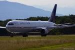yusuke@HNDさんが、ジュネーヴ・コアントラン国際空港で撮影したユナイテッド航空 767-322/ERの航空フォト(写真)