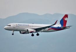 えるあ~るさんが、香港国際空港で撮影したネパール航空 A320-233の航空フォト(飛行機 写真・画像)
