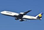 あしゅーさんが、羽田空港で撮影したルフトハンザドイツ航空 747-830の航空フォト(飛行機 写真・画像)