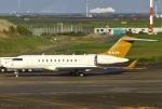 あしゅーさんが、羽田空港で撮影したエグゼクティブ・アヴィエーション・台湾 BD-700-1A11 Global 5000の航空フォト(飛行機 写真・画像)