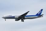 tsubasa0624さんが、羽田空港で撮影した全日空 777-281/ERの航空フォト(飛行機 写真・画像)