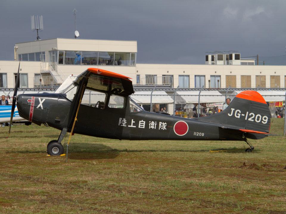 Mame @ TYOさんの陸上自衛隊 Fuji L-19 Bird Dog (11209) 航空フォト
