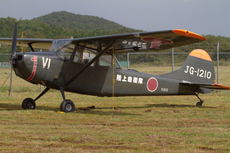 Mame @ TYOさんの陸上自衛隊 Fuji L-19 Bird Dog (11210) 航空フォト