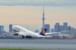リコッタさんが、羽田空港で撮影したルフトハンザドイツ航空 747-830の航空フォト(飛行機 写真・画像)
