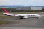セブンさんが、新千歳空港で撮影したトランスアジア航空 A330-343Xの航空フォト(飛行機 写真・画像)