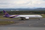 セブンさんが、新千歳空港で撮影したタイ国際航空 777-3AL/ERの航空フォト(飛行機 写真・画像)