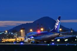 Nikon787さんが、松山空港で撮影した全日空 737-54Kの航空フォト(写真)