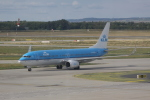 しかばねさんが、フェレンツリスト国際空港で撮影したKLMオランダ航空 737-8K2の航空フォト(写真)