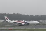ATOMさんが、成田国際空港で撮影したマレーシア航空 A330-323Xの航空フォト(飛行機 写真・画像)