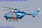 Chofu Spotter Ariaさんが、名古屋飛行場で撮影した愛知県警察 BK117B-2の航空フォト(飛行機 写真・画像)