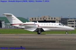Chofu Spotter Ariaさんが、名古屋飛行場で撮影した静岡エアコミュータ 525A Citation CJ2の航空フォト(飛行機 写真・画像)