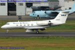 Chofu Spotter Ariaさんが、名古屋飛行場で撮影したダイヤモンド・エア・サービス G-1159 Gulfstream IIの航空フォト(飛行機 写真・画像)