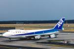 菊池 正人さんが、フランクフルト国際空港で撮影した全日空 747-281Bの航空フォト(写真)