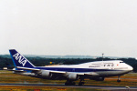 菊池 正人さんが、フランクフルト国際空港で撮影した全日空 747-481の航空フォト(写真)