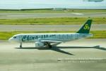 かみきりむしさんが、中部国際空港で撮影した春秋航空 A320-214の航空フォト(写真)
