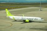 かみきりむしさんが、中部国際空港で撮影したソラシド エア 737-86Nの航空フォト(写真)