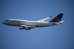 brasovさんが、サンフランシスコ国際空港で撮影したユナイテッド航空 747-422の航空フォト(飛行機 写真・画像)
