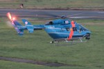 poohさんが、花巻空港で撮影した岩手県警察 BK117C-1の航空フォト(写真)