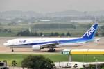 こじゆきさんが、金浦国際空港で撮影した全日空 777-281/ERの航空フォト(写真)