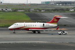 tsubasa0624さんが、羽田空港で撮影したHanhwa Airlines BD-100-1A10 Challenger 300の航空フォト(写真)