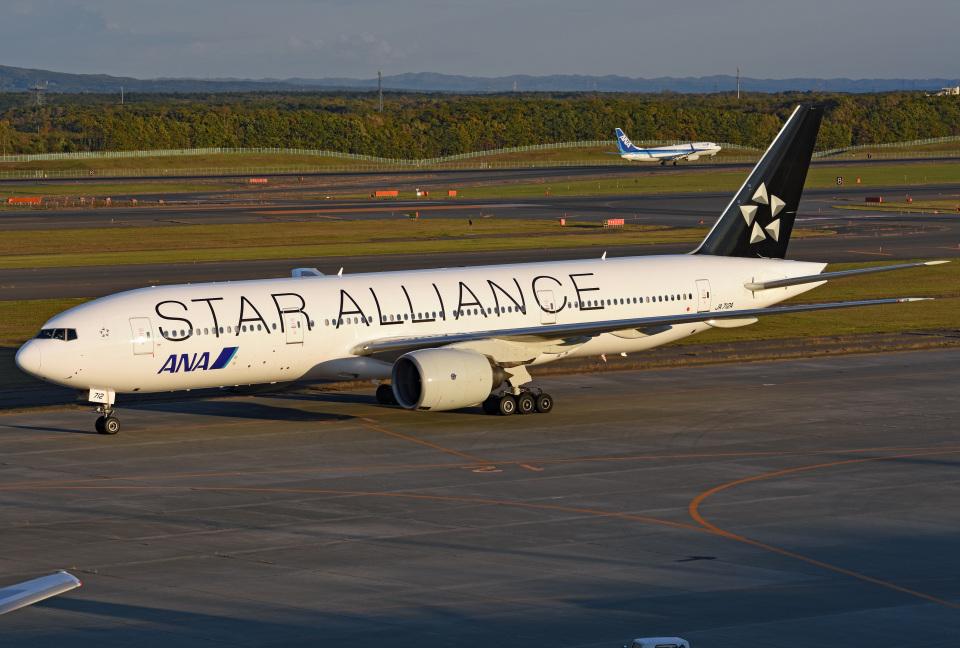 tsubasa0624さんの全日空 Boeing 777-200 (JA712A) 航空フォト