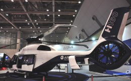 チャーリーマイクさんが、東京ビッグサイトで撮影したエアバス H160の航空フォト(飛行機 写真・画像)