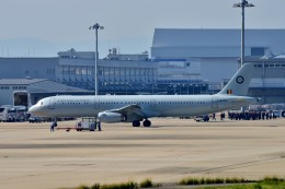 we love kixさんが、関西国際空港で撮影したベルギー空軍 A321-231の航空フォト(飛行機 写真・画像)