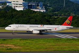 yuuka no kazeさんが、南紀白浜空港で撮影したトランスアジア航空 A321-131の航空フォト(飛行機 写真・画像)