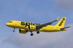LAX Spotterさんが、ロサンゼルス国際空港で撮影したスピリット航空 A320-271Nの航空フォト(写真)