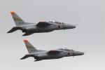 pcmediaさんが、浜松基地で撮影した航空自衛隊 T-4の航空フォト(飛行機 写真・画像)